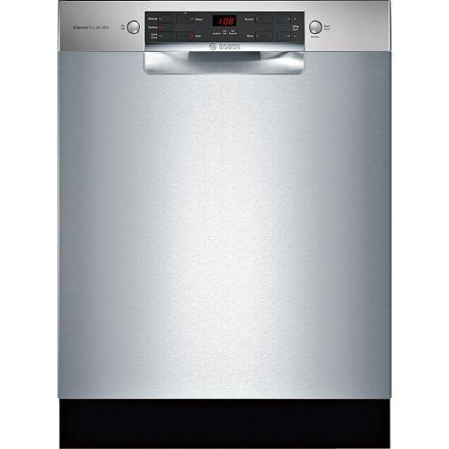 Série 300  Lave-vaisselle de 24 po avec poignée encastrée  Conformité A.D.A.  46 dBA