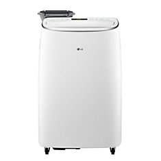 14,000 BTU 115-Volt Dual Inverter Smart Wi-Fi Portable Air Conditioner with Dehumidifier and Remote