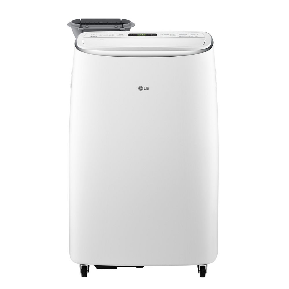 LG Electronics 14,000 BTU 115-Volt Dual Inverter Smart Wi-Fi Portable Air Conditioner with Remote