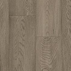 Plancher, bois d'ingénierie, 1/2 po x 7 1/2 po x longueurs variées, Chêne blanc, 25,73 pi2/boîte