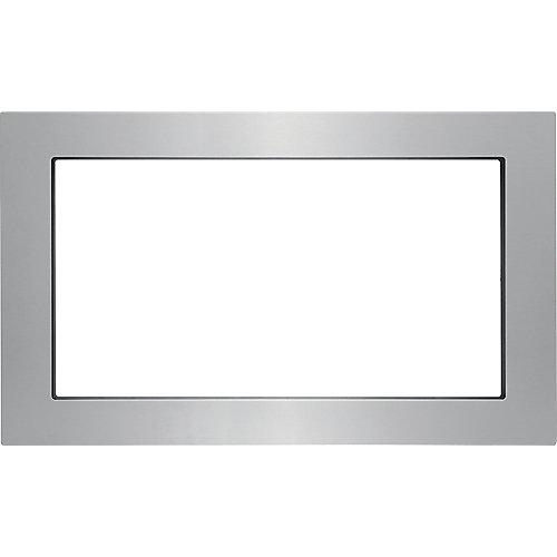 Kit de garniture de 30 po pour four à micro-ondes encastré en acier inoxydable