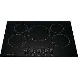 30-inch Radiant Electric Cooktop in Black with 5 Elements
