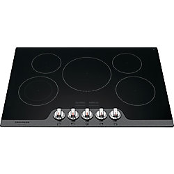 Frigidaire Gallery 30-inch Radiant Electric Cooktop in Stainless Steel with 5 Elements