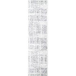 nuLOOM Vintage Arlena Grey 2 ft. 5-inch x 9 ft. 5-inch Indoor Runner