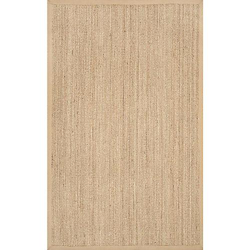 Tapis d'intérieur, 8 pi x 10 pi, Elijah Seagrass, beige
