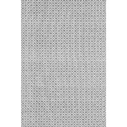 nuLOOM Hand Loomed Holcombe Grey 8 ft. x 10 ft. Indoor Area Rug