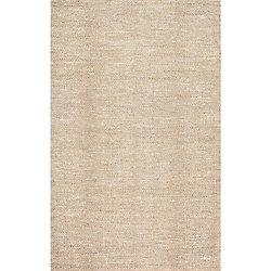 nuLOOM Hand Woven Wisniewski Beige 7 ft. 6-inch x 9 ft. 6-inch Indoor Area Rug