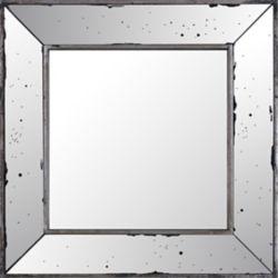 Art Maison Canada 18.11x18.11 place du miroir, cadre en miroir, prêt à accrocher