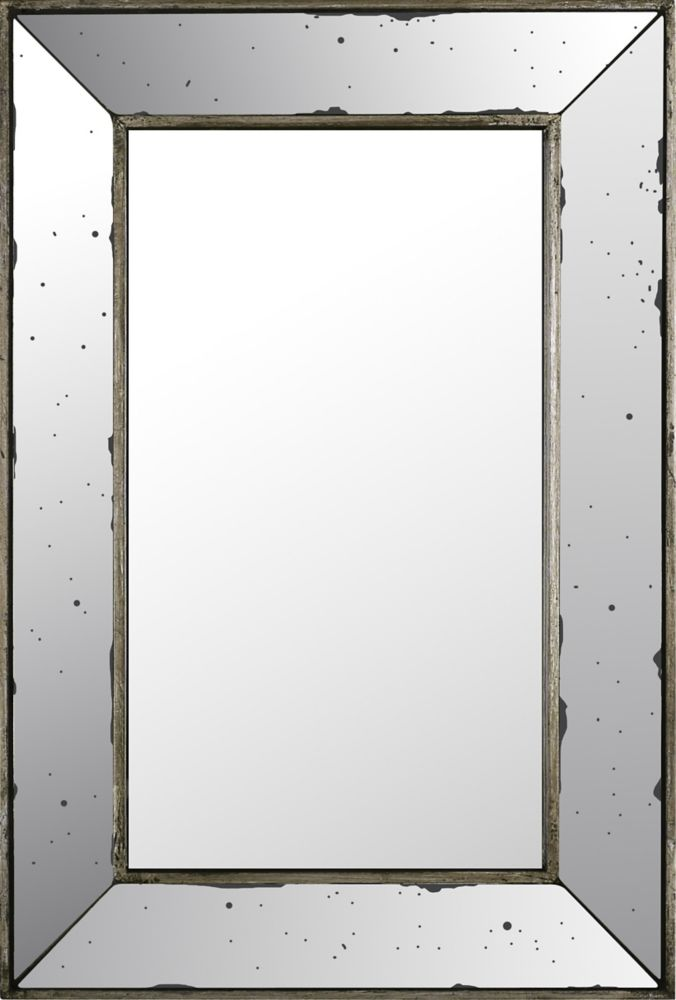 Art Maison Canada 16.14x24.02 Rectangle Mirror, Mirrored frame, Ready to hang