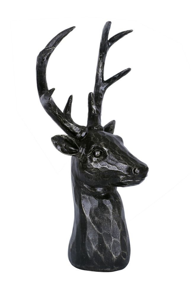 Art Maison Canada 5.71x4.33x11.42 Darby Deer Head, Wall Accent, Ready to hang
