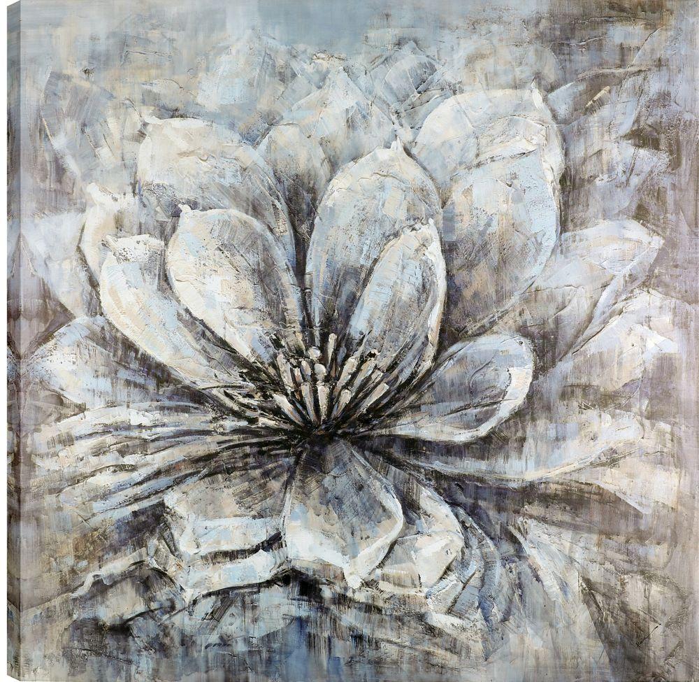 Art Maison Canada 36x36 Flower Bloom, Canvas Print Wall Art, Ready to hang