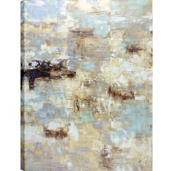 Art Maison Canada 30x40 Golden Abstract, Canvas Print Wall Art, Ready to hang