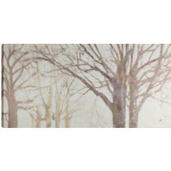 Art Maison Canada 24x48 Winter Trees, Canvas Print Wall Art, Ready to hang