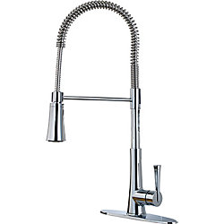 Pfister Zuri Culinary Pulldown Faucet in Polished Chrome