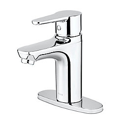 Pfister Pfirst Modern Single Control Lav Faucet in Polished Chrome