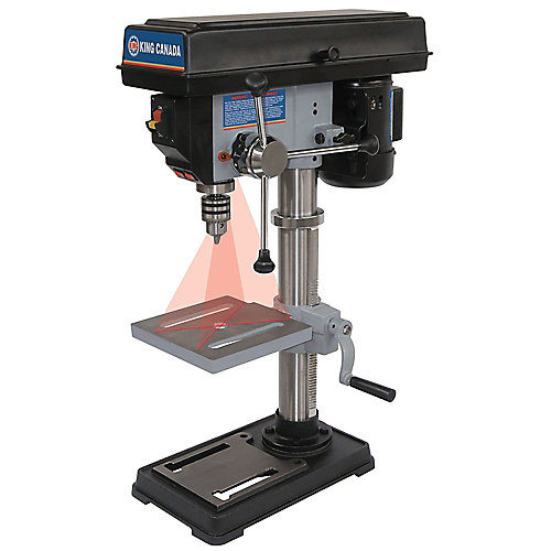 10 inch. Drill Press With Dual Laser Guide System