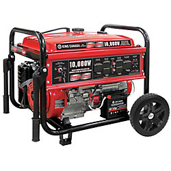 Power Force Gasoline Generator With Electric Start And Wheel Kit 8500 Watt