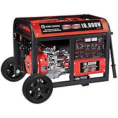 Gasoline Generator With Electric Start And Wheel Kit 10,000 Watt