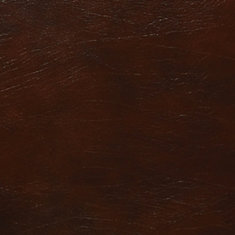48 inch x 96 inch Recycled Leather Veneer Sheet in Mahogany Buffalo