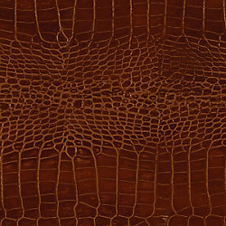 Formica 48 inch x 96 inch Recycled Leather Veneer Sheet in Mahogany  Crocodile