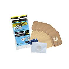 Sacs de rechange et filtres Electrolux Réservoir, Style C, EconoPack - 6 sacs + 1 filtre