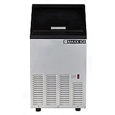 Maxx Ice Machine à glaçons autonome de 17 po et de 75 lb