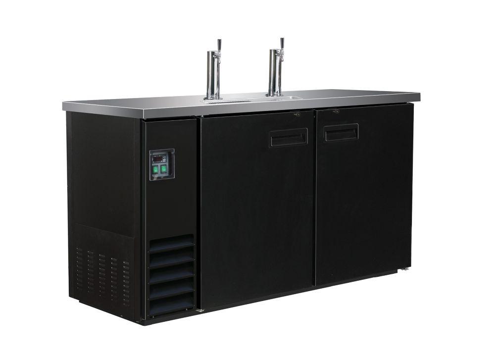 Maxx Cold X-Series Dual Tap 60 inch Keg Cooler