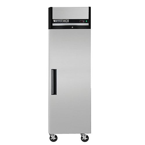Maxx Cold X-Series 23 cu.ft. Single Door Commercial Reach-In Refrigerator