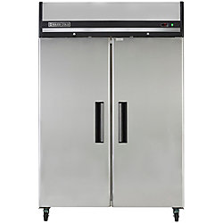 Maxx Cold X-Series 49 cu. ft. Double Door Commercial Reach in Refrigerator