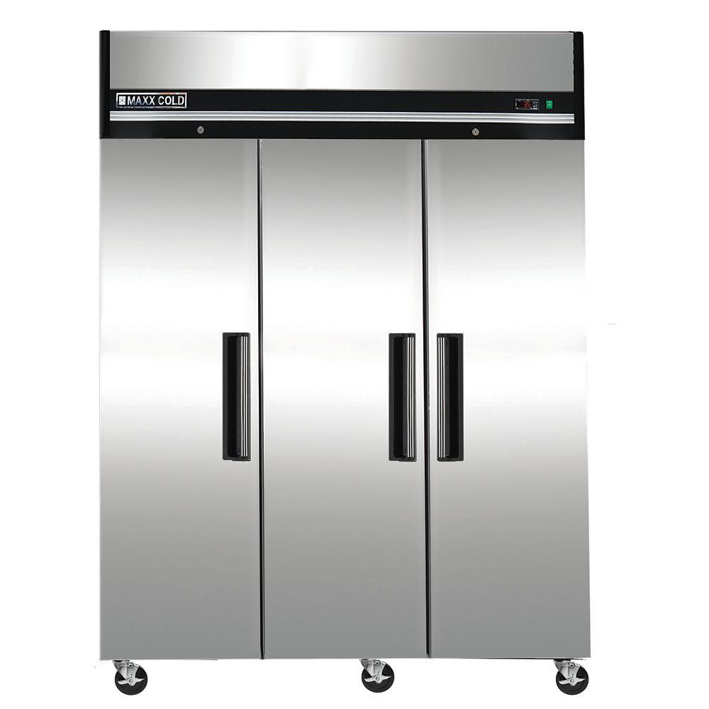 72 cu. ft. Triple Door Commercial Reach In Refrigerator