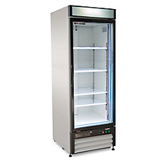 32 in Reach-in 1-door Commercial Freezer 23 cu. ft.