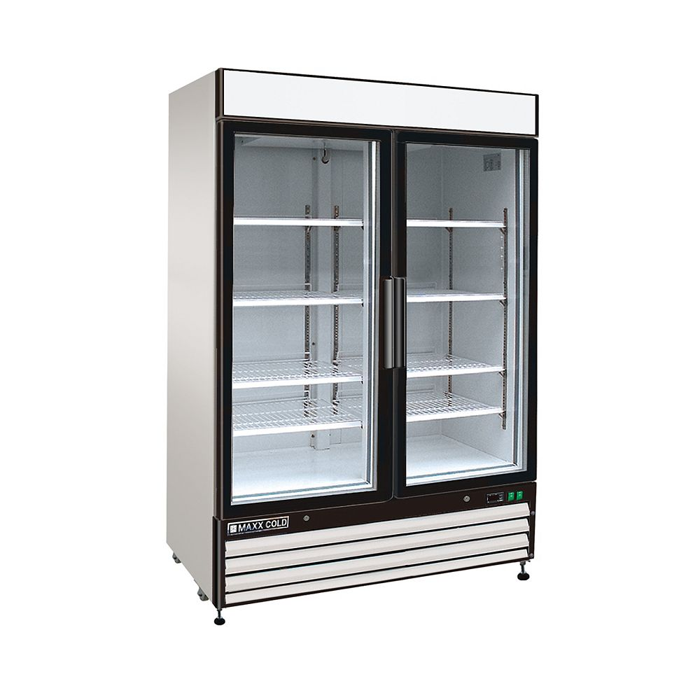 Maxx Cold X-Series 54-inch 48 cu. ft. Reach-In 2-Door Commercial Refrigerator