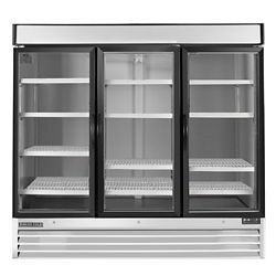 Maxx Cold X-Series Commercial 81 inch 72 cu.ft Reach-in 3-door Freezer