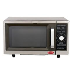 General 1.0 cu.ft Dial Commercial Microwave - 1000W