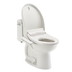 American Standard Advanced Clean AC 1.0 Slow Close SpaLet Electric Bidet Seat for Elongated Toilet in White