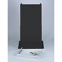 GE Chimney Extension Kit- Black Slate