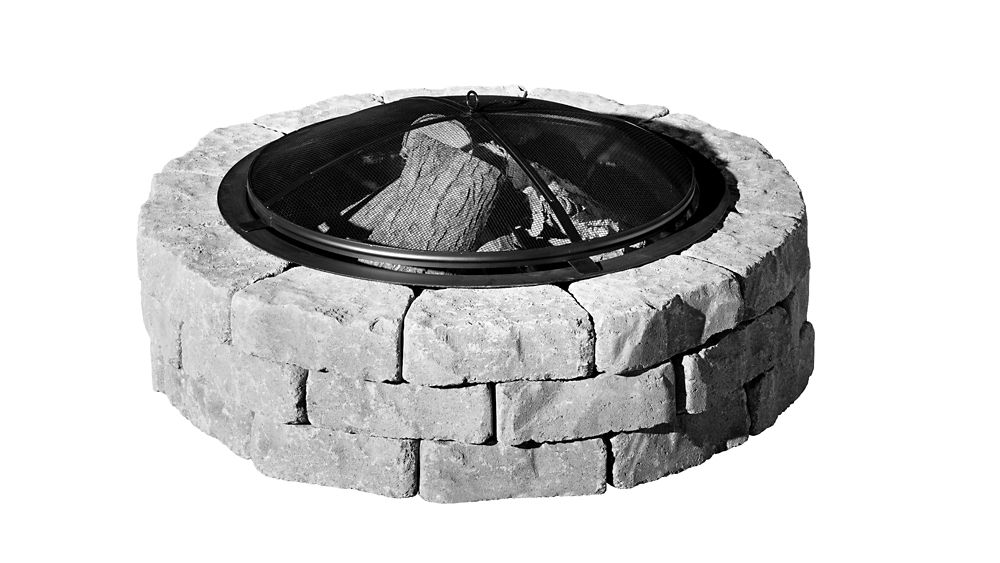 PERMACON Beltis Shadow Firepit w/screen