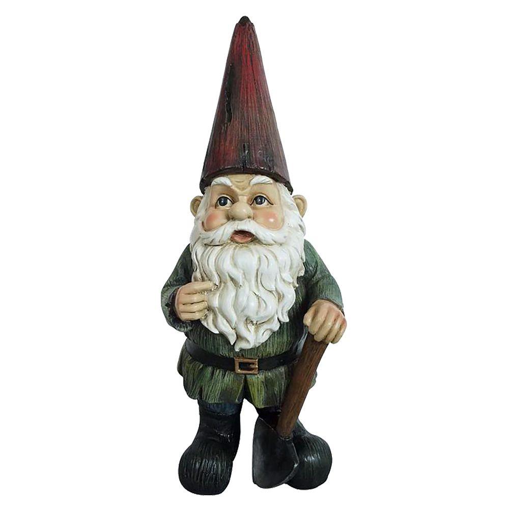 Working Gnome Statue