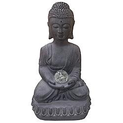 Angelo Décor Statue Bouddha ave chandelle