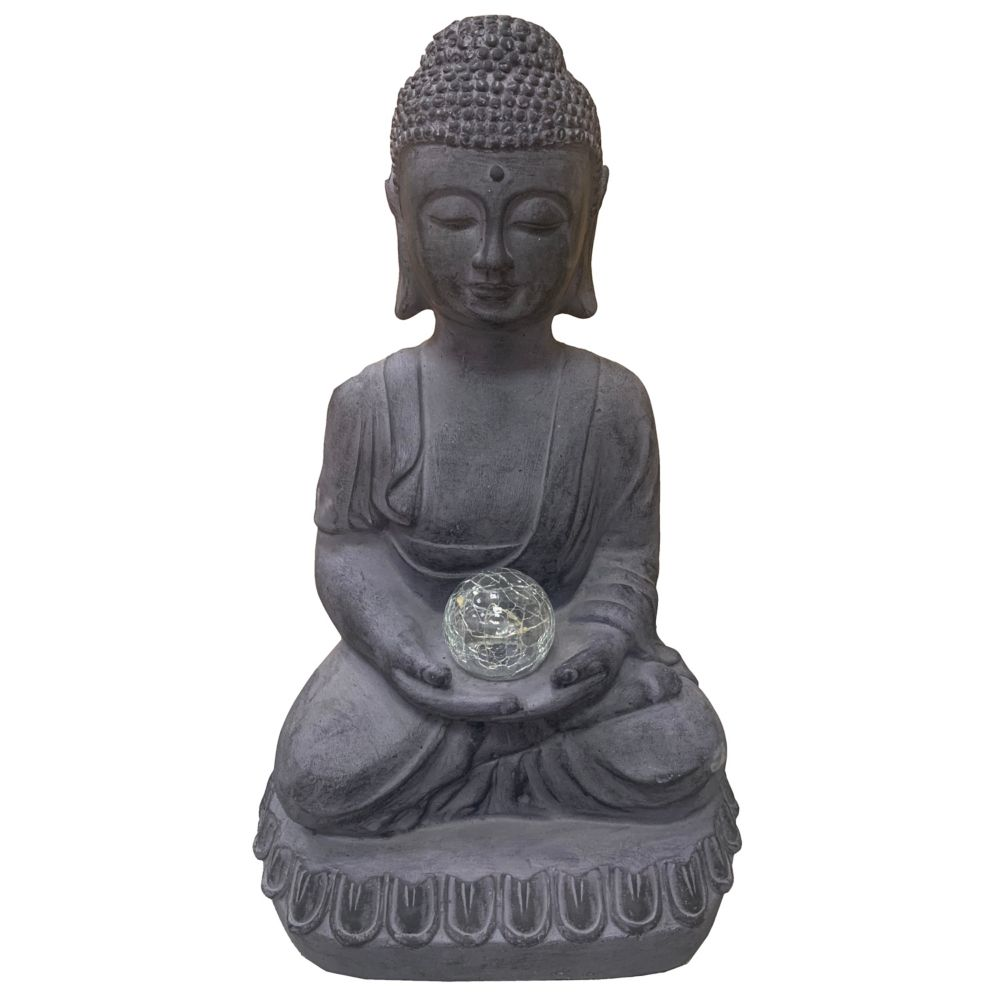 Angelo Décor Buddha with Candle Statue