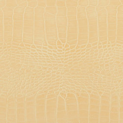 Formica 48 inch x 96 inch Recycled Leather Veneer Sheet in Ivory  Crocodile