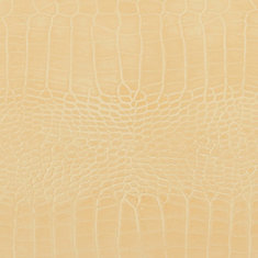 48 inch x 96 inch Recycled Leather Veneer Sheet in Ivory  Crocodile