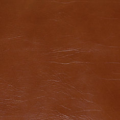 48 inch x 96 inch Recycled Leather Veneer Sheet in Chestnut  Buffalo