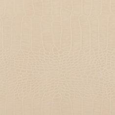 48 inch x 96 inch Recycled Leather Veneer Sheet in Paloma Grey  Crocodile