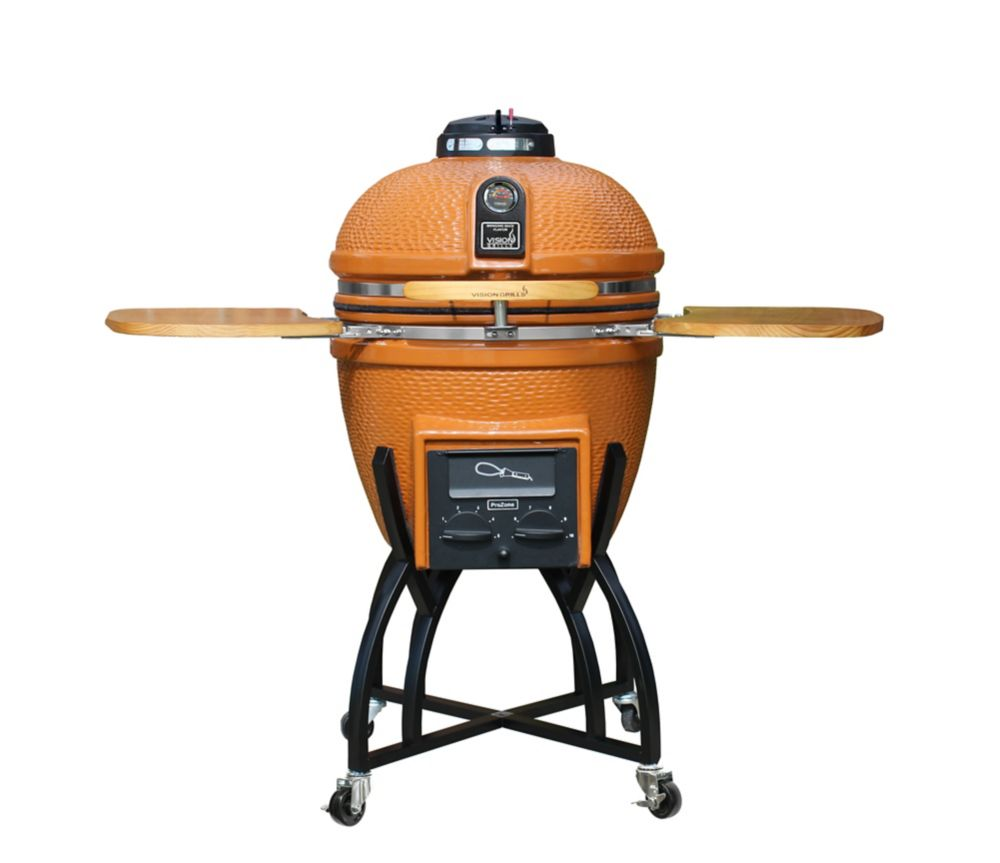 Vision Grills Vision Grill Kamado S Series Orange The
