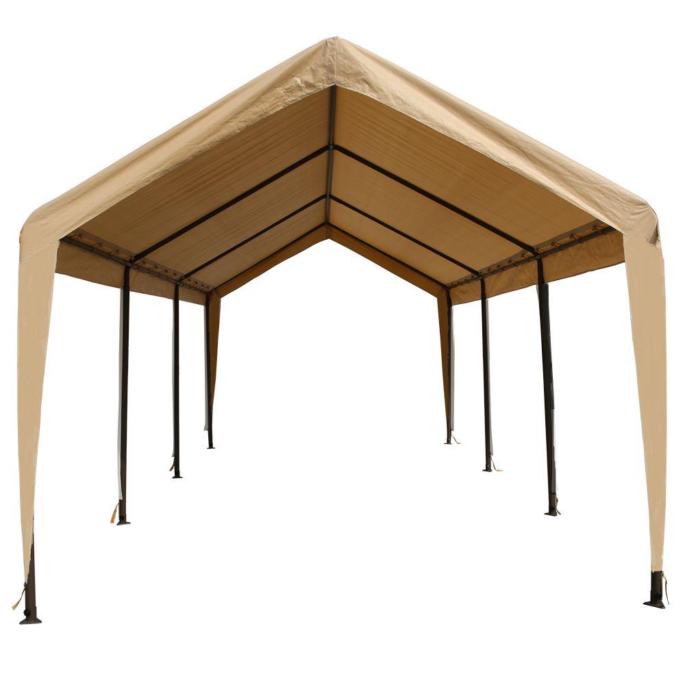 Impact Shelter Heavy Grade Carport Canopy 10x20 Shelter