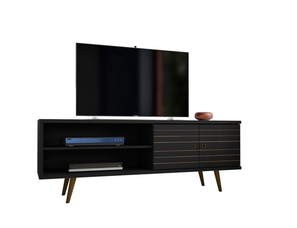 Manhattan Comfort Liberty TV Stand 62.99 in Black