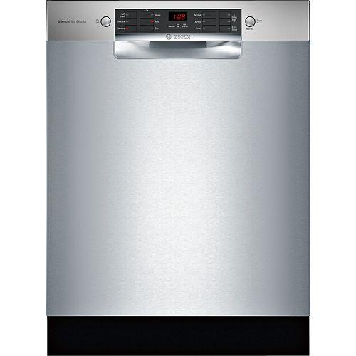 Série 800  Lave-vaisselle de 24 po avec poignée encastrée  Conformité A.D.A.  3e panier standard