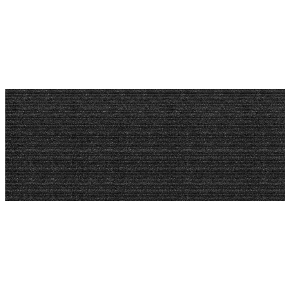 Multy Mt1001346 2/' X 5/' Charcoal Concord Mat Floor Runner
