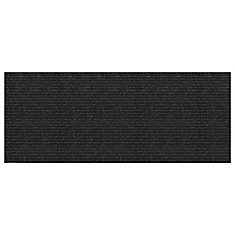 Concord Charcoal 2 ft. x 5 ft. Needlepunch Floormat Runner